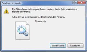 thumbs.db deaktivieren registry