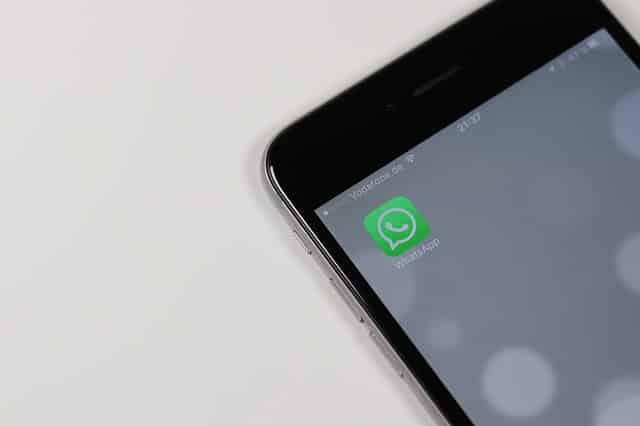 WhatsApp Schrift