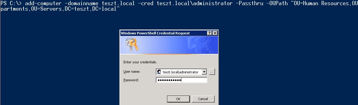 Computer in Domäne