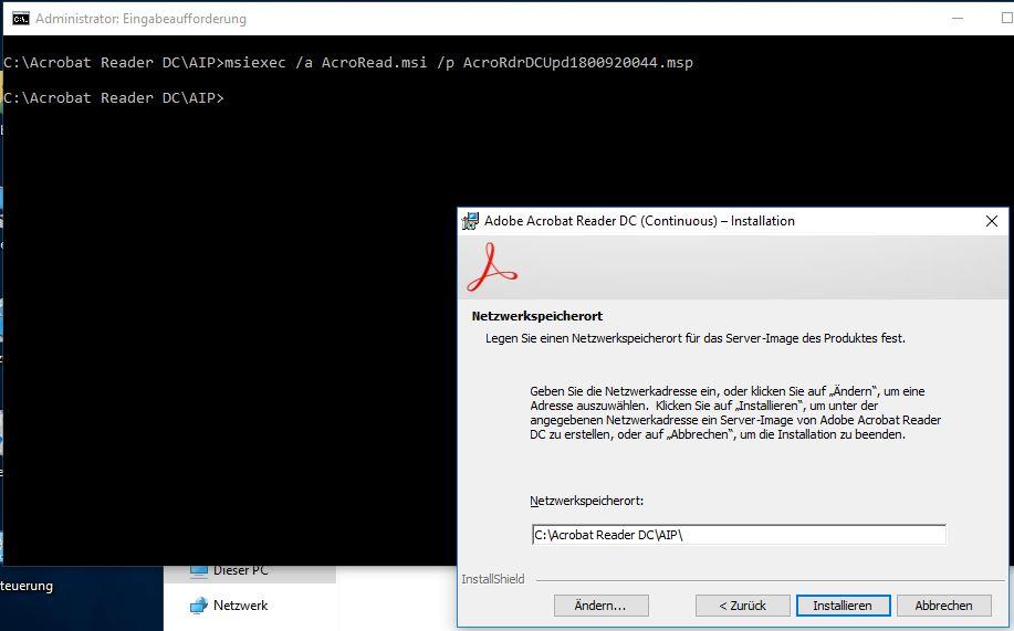 Adobe Reader DC paketieren für SCCM / Empirum - www itnator net