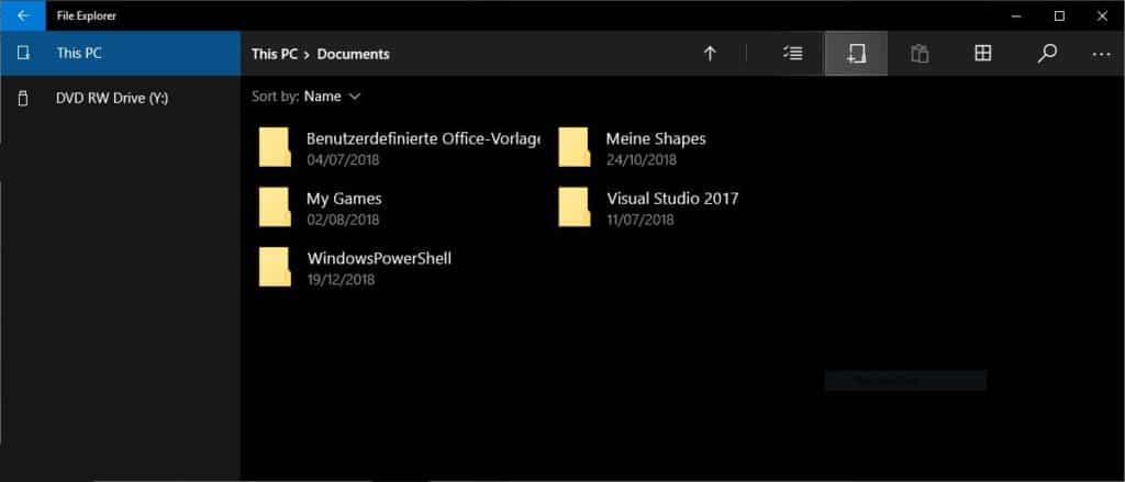 Windows Touch Explorer aktivieren