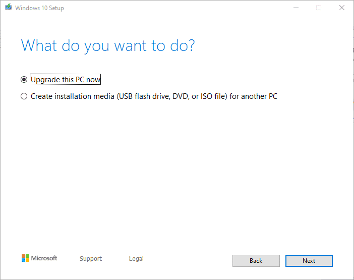 Windows 10 1903 Download herunterladen Media Creation Tool