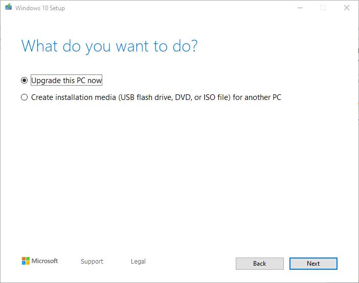 Windows 10 1903 Download herunterladen Media Creation Tool
