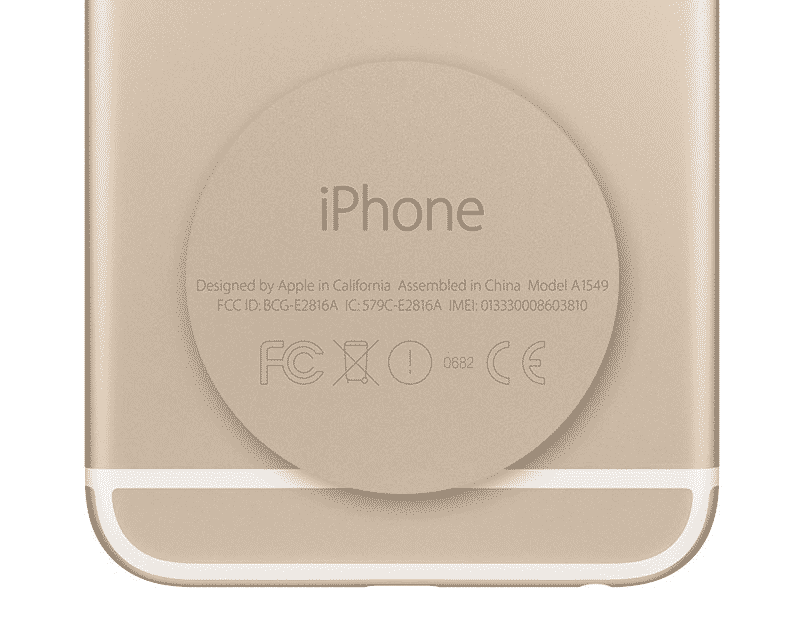 iPhone Modell Rückseite