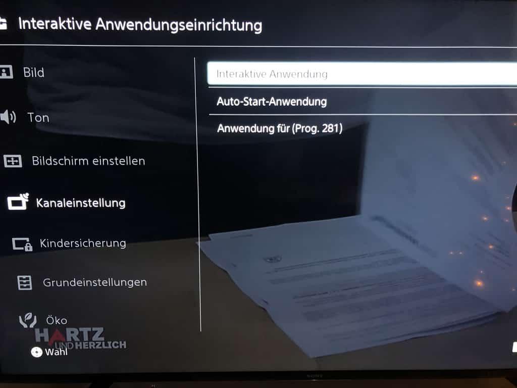 Roter Knopf deaktivieren sony smart tv