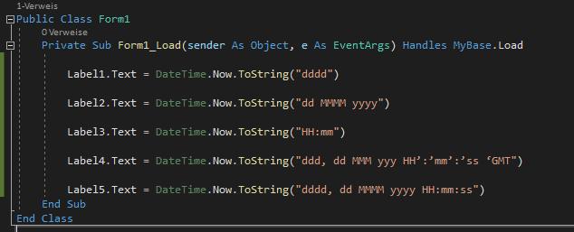 datetime formatieren VB.NET