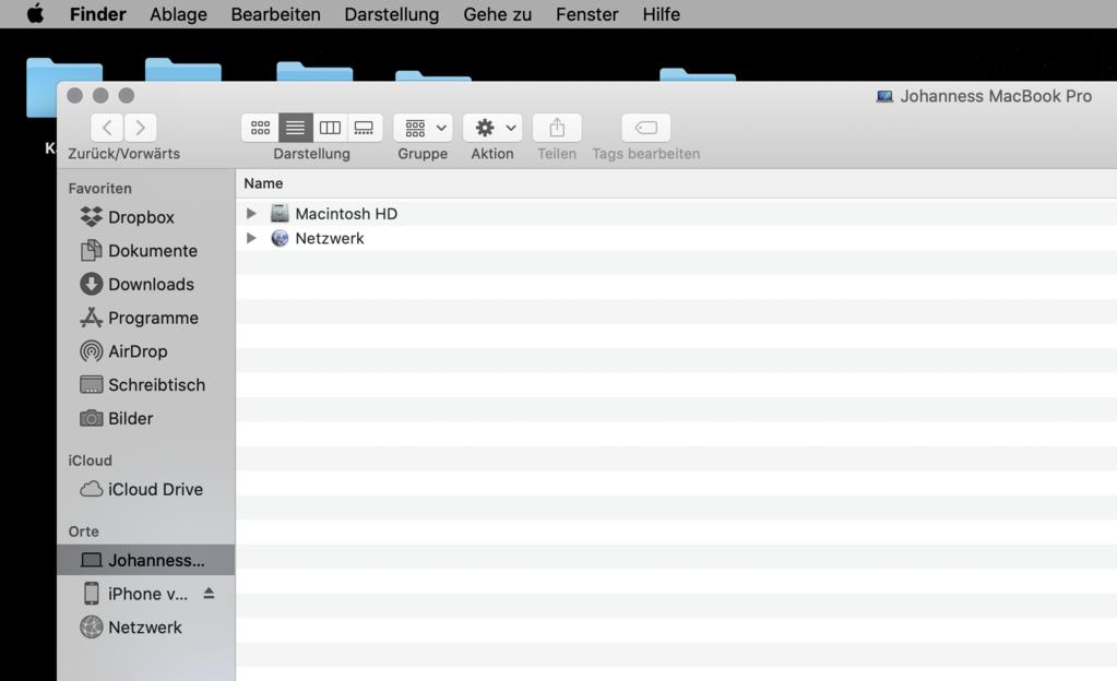 Screenshot erstellen Mac OS Shortcut Tastenkürzel