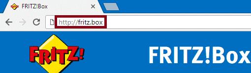 Fritz-Box Web-Oberfläche Login