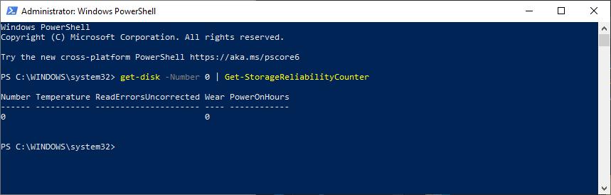 SAMRT Status PowerShell
