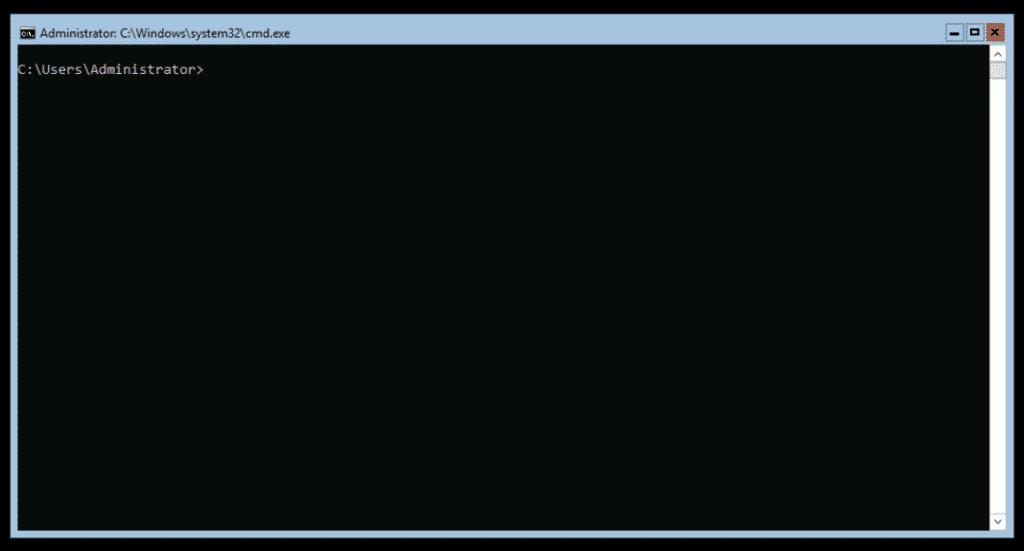 Windows Server Core CMD