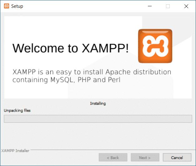 XAMPP installieren Windows