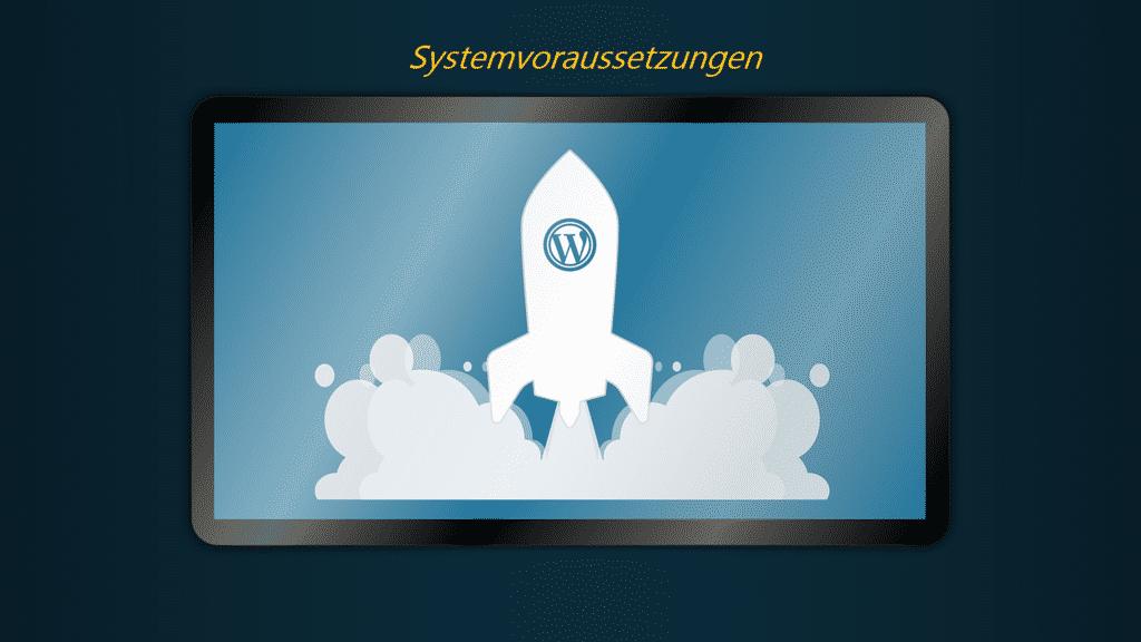 Systemvoraussetzungen für WordPress